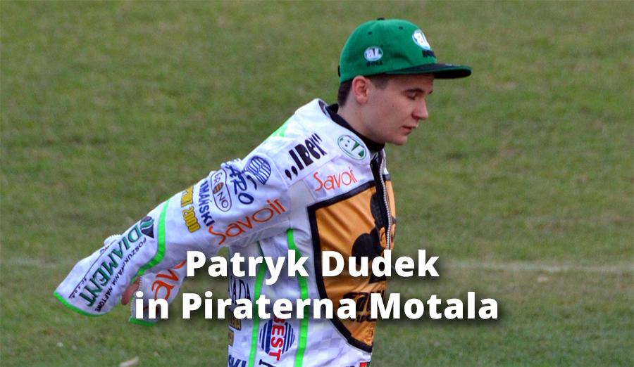 Patryk Dudek in Piraterna Motala